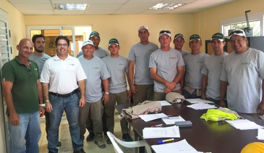 TP installer training in Cuba